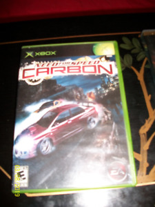 Jeux video x-box Need for speed Carbone
