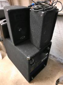 Gemini XTR-400 Powered Speaker System