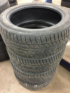 P245/45ZR18 96W Uniroyal Tiger Paw GTZ All Season set of 4 tires