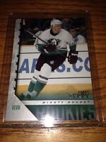Corey Perry young guns rookie card mint