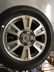 Tundra Platinum Wheels and Rubber BRAND NEW