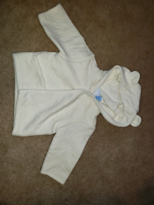 0-3 month hoodie excellent condition