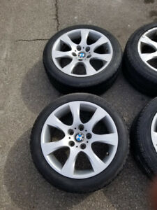 "17"" BMW OEM Rims and Tires"