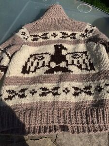 Authentic Cowichan Sweater (L) London Ontario image 4