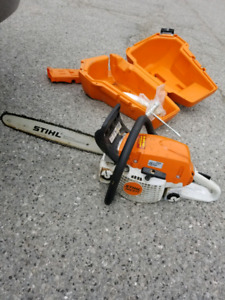 Stihl chainsaw  MS 271 gas powered