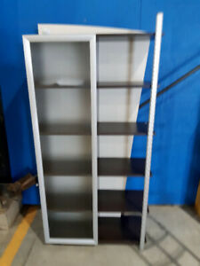 New Bookcase with Glass Door