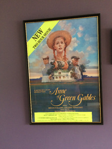 Anne of Green Gables Mini-Series (1980s) Vintage Poster