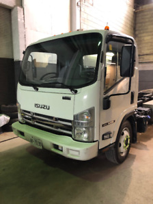 2013 Isuzu NRR w/ Multi lift Xr-5 Hook Lift Truck