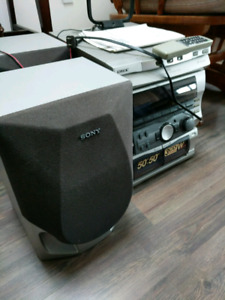 Sony rx55 stereo with speakers