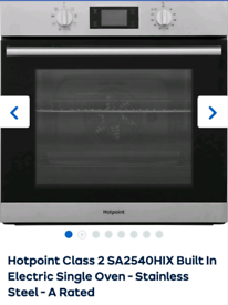 Hotpoint Built In Electric Single Oven