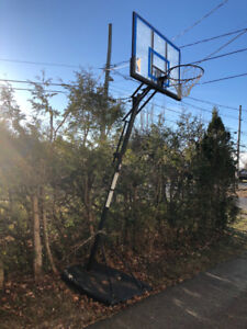 Basketball net - outdoor adjustable height