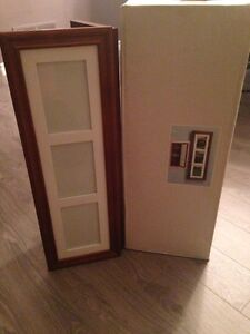 Wooden Wall Frame With Photo Compartment Kitchener / Waterloo Kitchener Area image 1