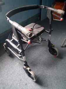 Nexus 4-wheeled walker with front basket - $20