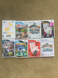 Party/kid wii games