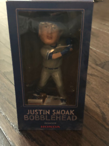 Justin Smoak Toronto Blue Jays Bobblehead Brand New in Box