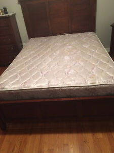 Mattress and box spring for sell.