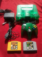 Ensemble Nintendo 64 Jungle Green