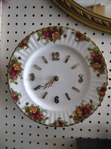 Old Country Roses Clock -- FROM PAST TIMES Antiques & Coll Regina Regina Area image 4