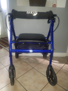 HUGO Rolater walker with wide seat