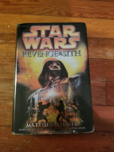 Hardcover Star Wars: Revenge of The Sith by Matthew Stover