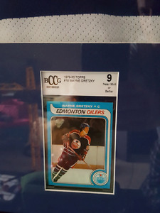 Topps gretzky rookie card