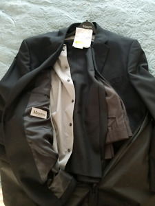 Men' Black Dress suit (new)