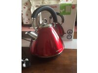 Morphy Richards Electric kettle with box - Red