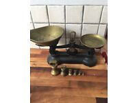 Vintage Librasco Scales with Bell Shaped Weights