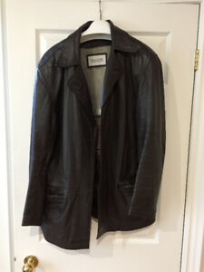 Genuine Reza Duro natural leather jacket size 50/XL