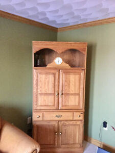 Cabinet - Solid Oak