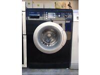 Bosch exxcel 7kg washing machine black 1200 spin