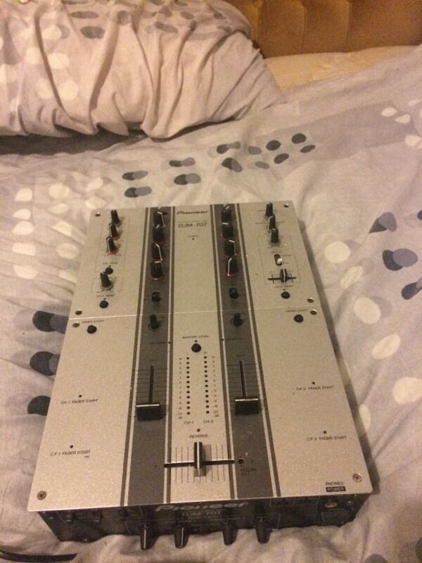 Pioneer 2 channel mixer djm-707