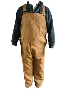 Khaki-bib-Brace-overall-Dungarees-100-Cotton-Great-for-WWII-Land-Army-New