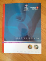 HeartSaver AED book and CD