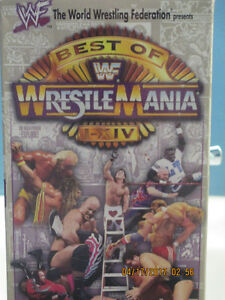 selling old classic wwf wresting video's