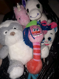 Teddy bear bundle unicorn pictures disney trolls characters cooper