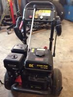 BE 3100psi gas pressure washer