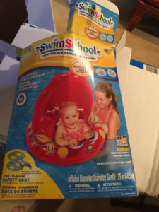 Swim school floating safety seat for babies 6-18 months