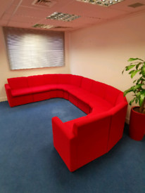 Kids playroom/office soft seating