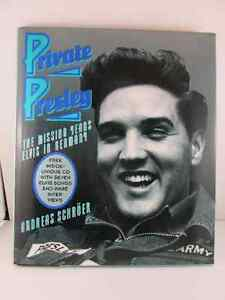 Private Elvis The Missing Years Elvis In Germany Book with a CD