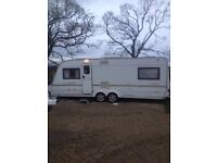 Coachman 2002 model fixed bed
