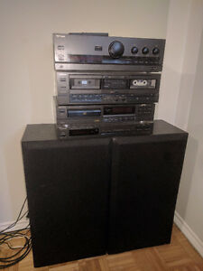 Technics Surround Sound System  + 2 bookshelf speakers