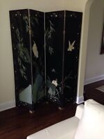 Paravent chinois Chinese screen