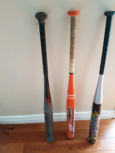 3 softball bats. $100 for all 3.