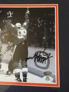 Autographed Wayne Gretzky and Mario Lemieux Canada Cup Pic Belleville Belleville Area image 2