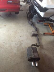 Exhaust 240sx s13