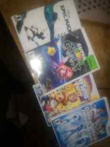 Nintendo wii, one controller, + games