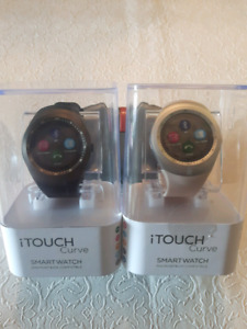 I TOUCH CURVE SMART WATCH