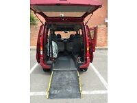 WHEELCHAIR ACCESS RENAULT KANGOO 1.2 ONLY 37000 MILEAGE 2007