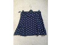 Matalan Polka Dot Skirt Size 12